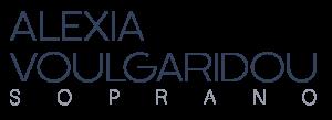 Logo Alexia Voulgaridou - Soprano